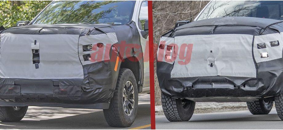 Chevy Silverado ZR2 spy shots reveal huge tires, skid plates