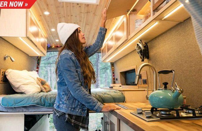 Omaze is distributing a desire Mercedes Sprinter 4x4 camper van