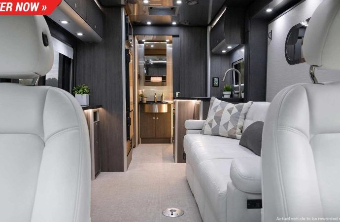 Omaze is handing out an extravagant $270 k Airstream Atlas in this drawing