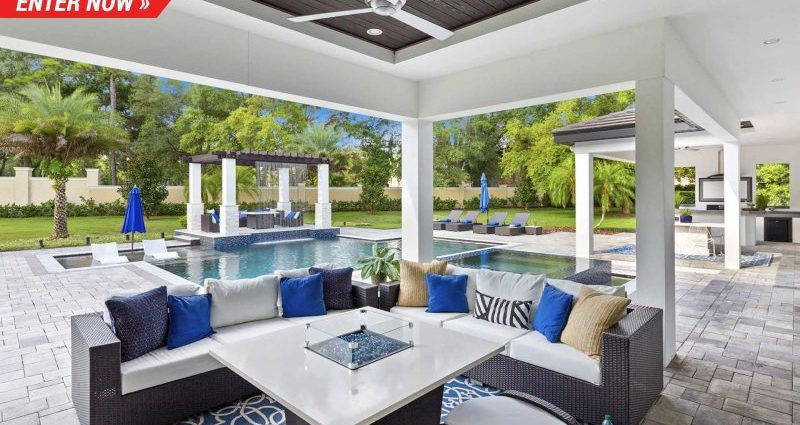 Omaze is handing out a 5,000 sq feet vacation home or $1 million