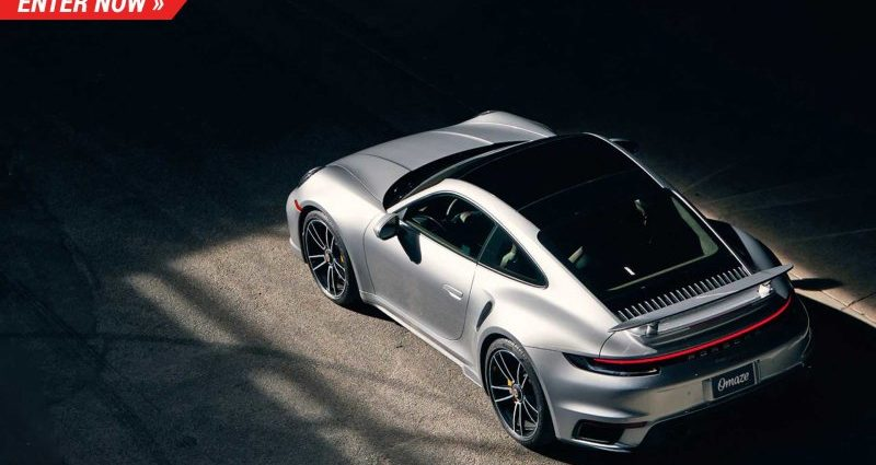 Omaze is distributing a 2021 Porsche 911 Turbo S and also $20,000 money