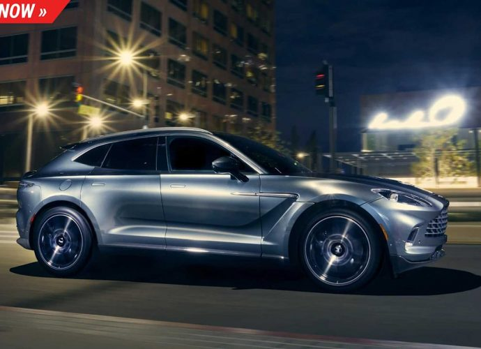 Win a 2021 Aston Martin DBX, a Bond automobile for the family members