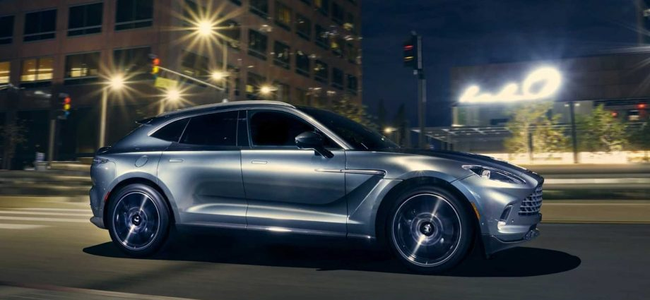 Get in right here for an opportunity to win a 2021 Aston Martin DBX