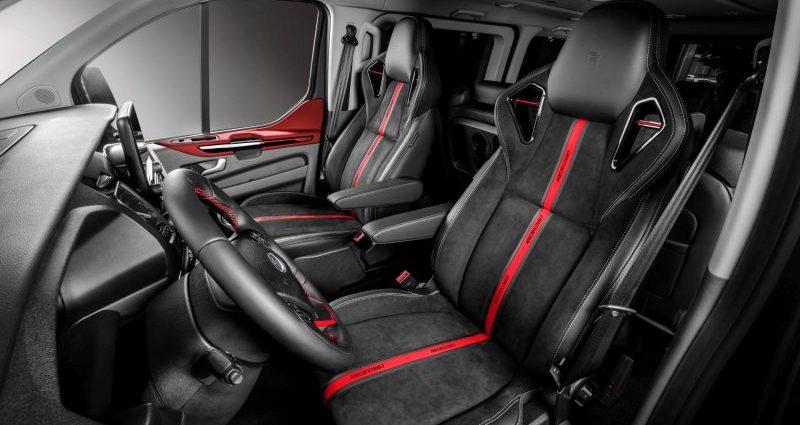European receiver offers Ford Transportation van a flashy transformation