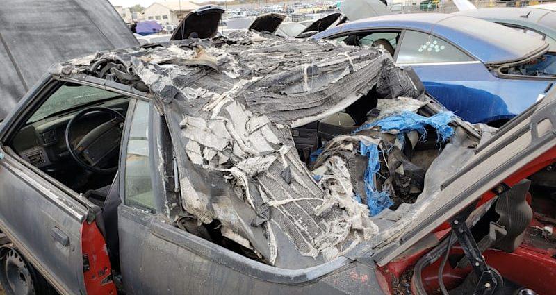 Junkyard Treasure: 1993 Ford Mustang LX Convertible
