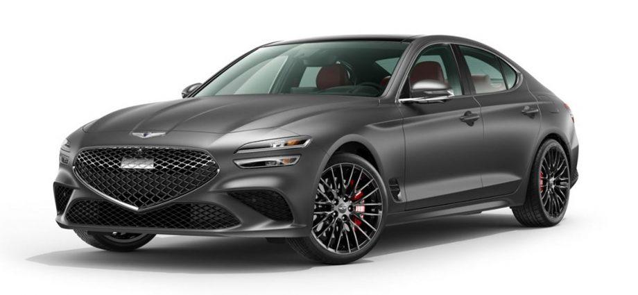 2022 Genesis G70 Introduce Version headings upgraded sporting activity car