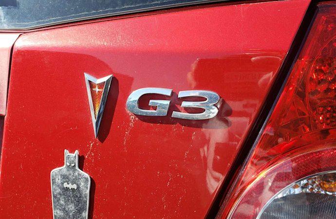 Junkyard Treasure: 2009 Pontiac G3