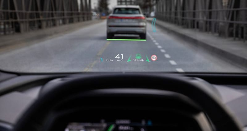 Audi Q4 E-Tron electrical crossover will certainly have a vibrant AR heads-up screen