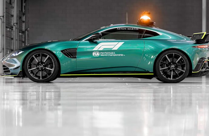 Aston Martin sneak peeks a bespoilered Vantage; could it be a brand-new AMR?