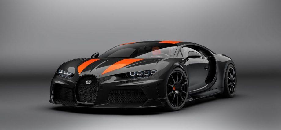 Bugatti Chiron Super Sporting Activity 300+ Model hits the trail