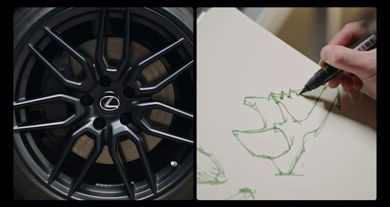 Lexus and also RTFKT develop a tennis shoe influenced by the 2021 IS 350