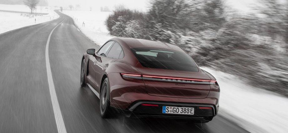 2021 Porsche Taycan base design obtains its main EPA scores
