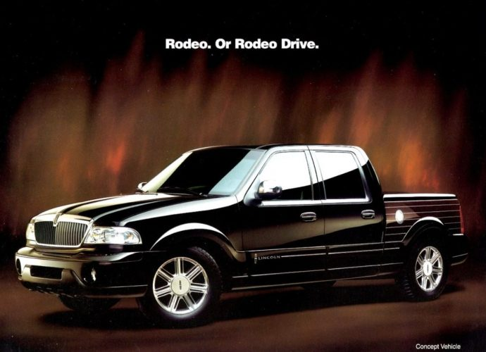 The Lincoln Blackwood was the initial high-end pick-up. It was likewise unusual.