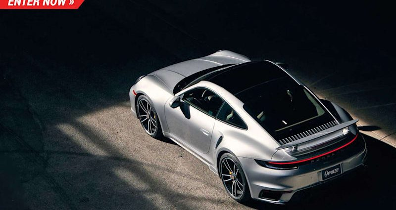 The 2021 Porsche 911 Turbo S is the quickest 911 ever before made as well as you can win one absolutely free