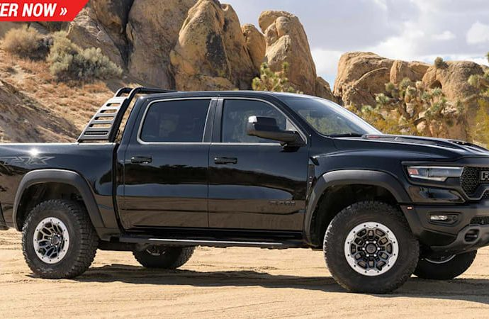 The 2021 Ram 1500 TRX is the fastest pick-up on the marketplace and also you can win it
