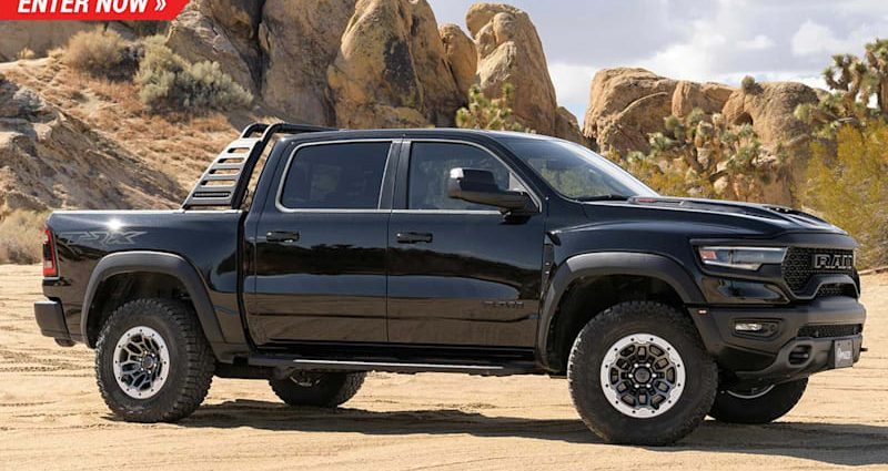 Get in right here to win the 2021 Ram TRX, the fastest pick-up on the marketplace