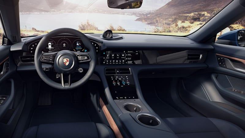 2021 Porsche Taycan 4 Cross Turismo interior