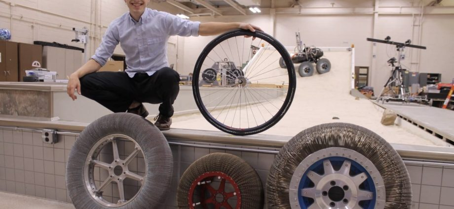 Your following bike might have titanium alloy tires like NASA's wanderers