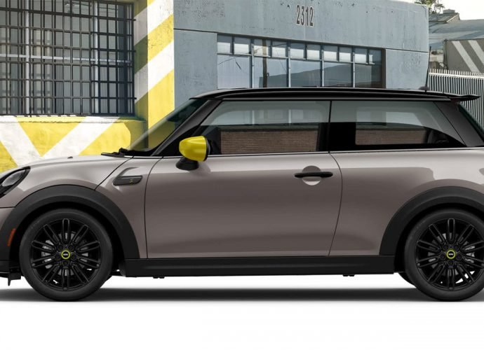 Next-generation Mini Cooper electrical cars and truck captured in spy images