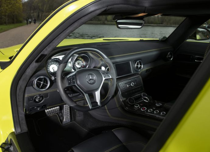 Among 9 Mercedes-Benz SLS AMG Electric Drives is up for sale