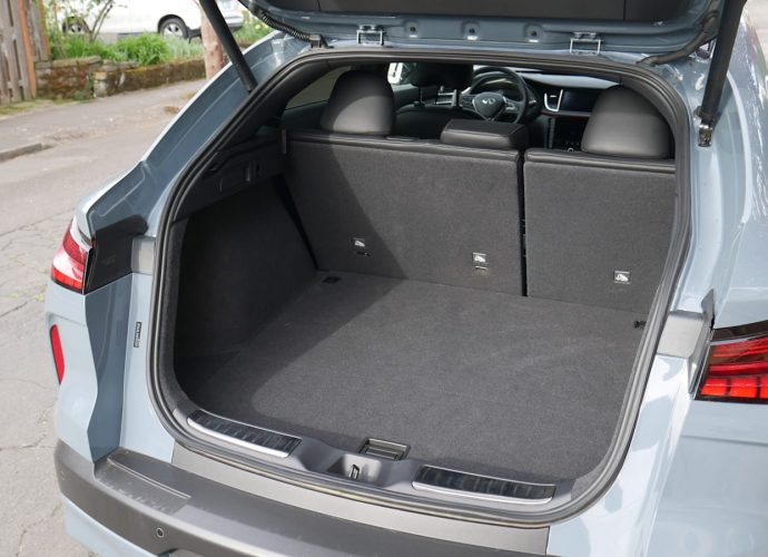 2021 Infiniti QX55 Travel Luggage Examination The rate to be spent for a sports car