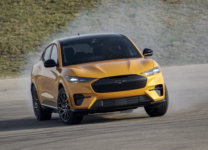 2021 Ford Mustang Mach-E GT as well as Efficiency Version settle specifications, rates as well as shipment days