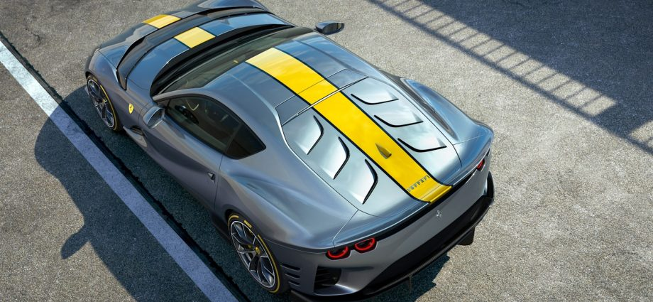 Ferrari 812 Superfast minimal version design's V12 will certainly rev to 9,500 rpm
