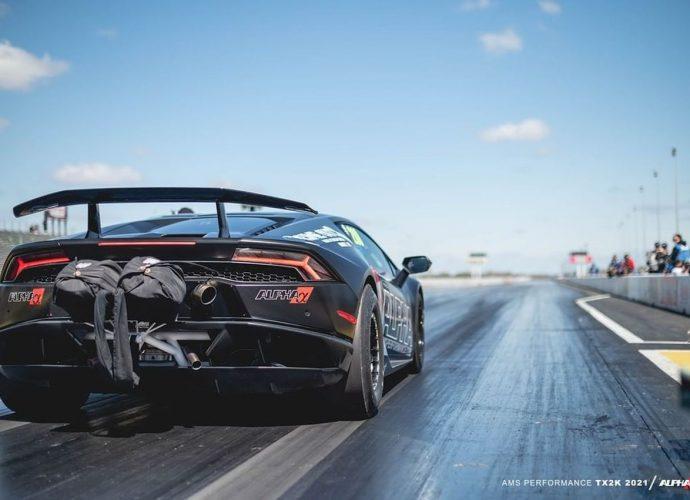 AMS Lamborghini Huracan does 0-60 Miles Per Hour in 1.4 secs!