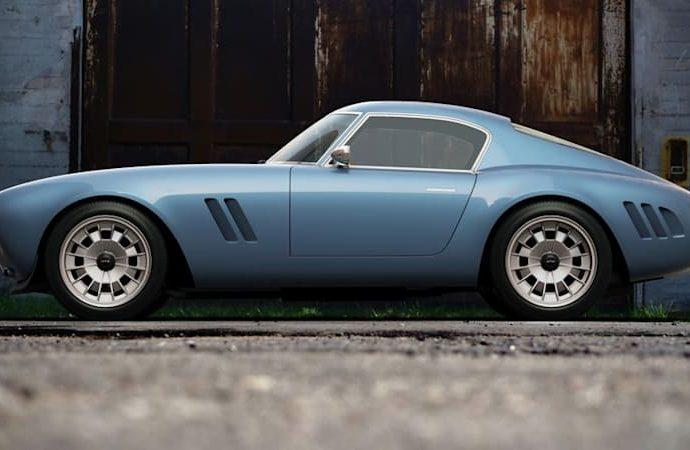 GTO Design's Ferrari-inspired resto-mod is called 'Squalo'
