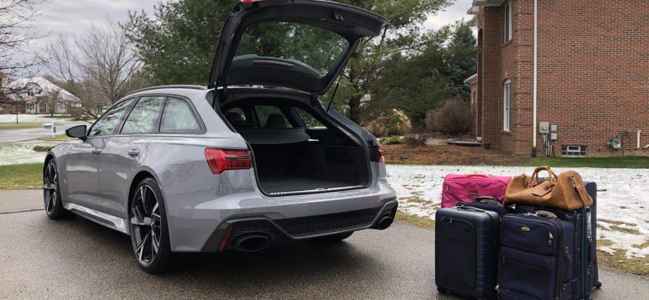 Uberwagon Freight Contrast: 2021 Mercedes-AMG E 63 S Wagon vs 2021 Audi RS 6 Avant