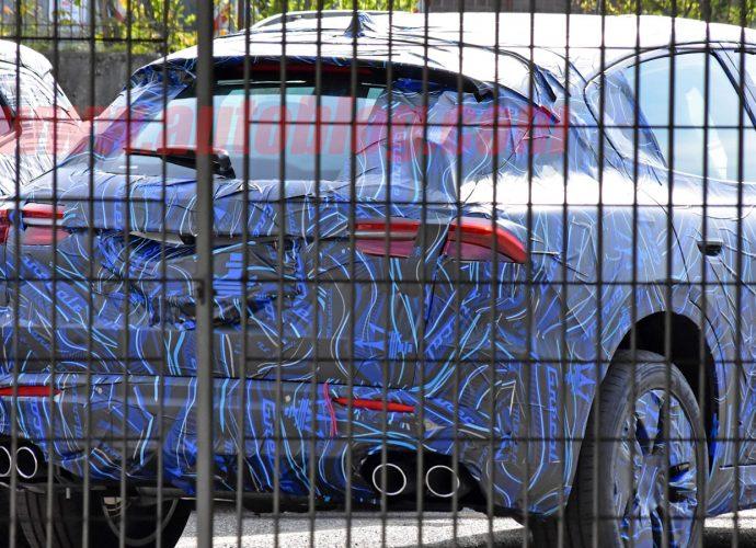 2022 Maserati Grecale spy images reveal brand-new SUV behind Stellantis entrances