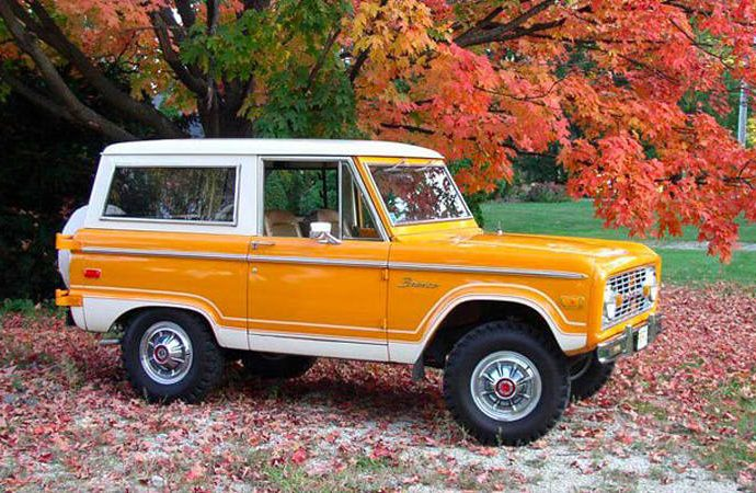 2021 Ford Bronco Sporting Activity First Version Practice Run Orange is the brand-new Bronco