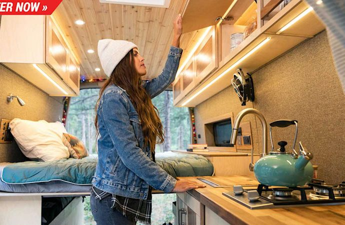 Win this made-for-you $140 K Mercedes Sprinter 4x4 camper van