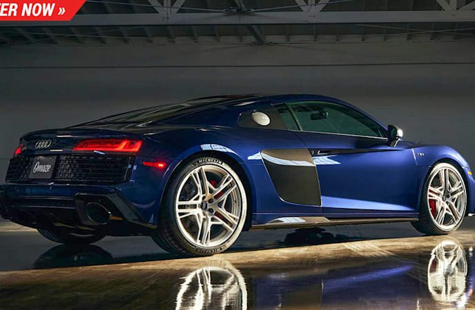 Audi just made 15 of these minimal version R8 V10 s as well as you can win one below