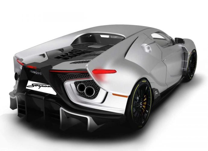 The Frangivento Sorpasso is a brand-new all-Italian supercar with a V10 and also huge personalization