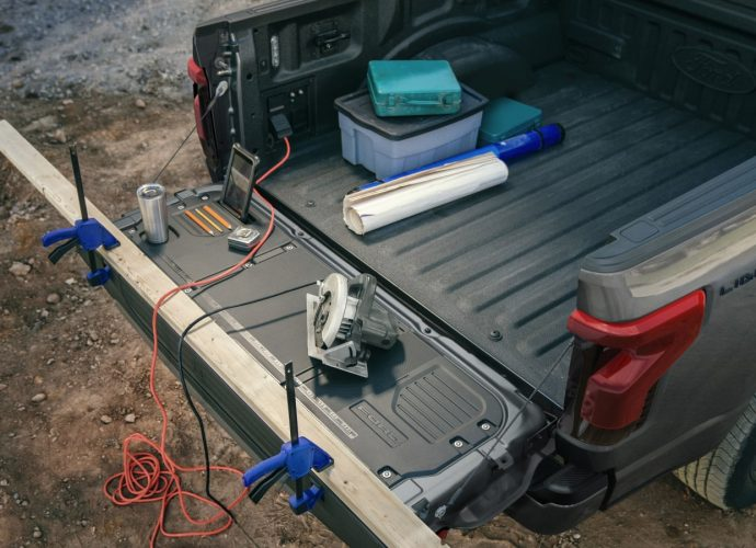 F-150 Lightning Pro exposed as Ford's below-$40 K electrical job vehicle