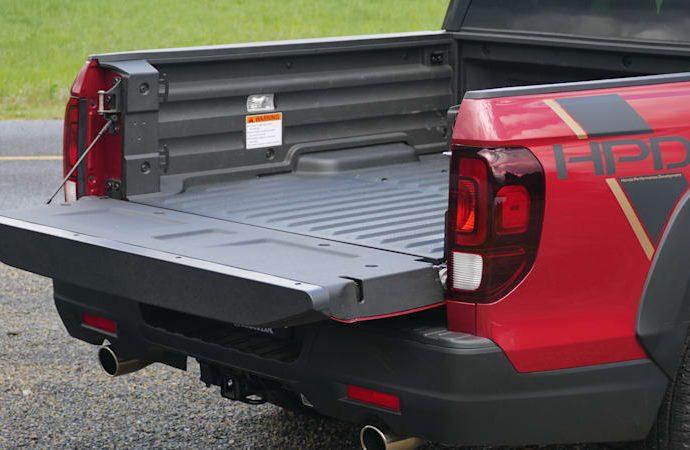 2021 Honda Ridgeline Travel Luggage Examination|An associate a trunk