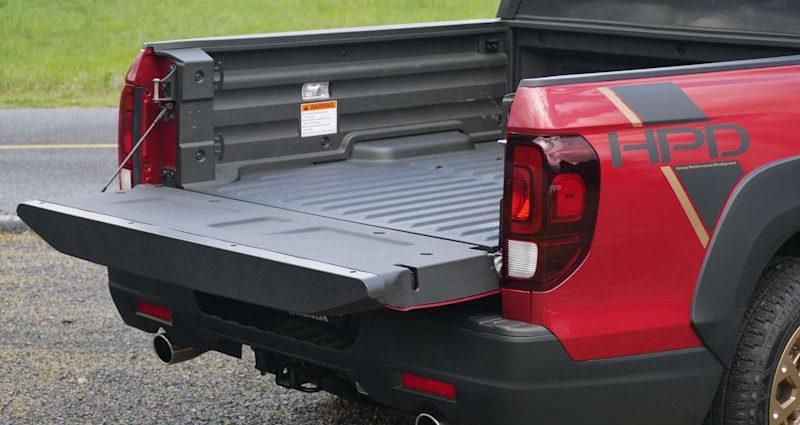 2021 Honda Ridgeline Travel Luggage Examination An associate a trunk