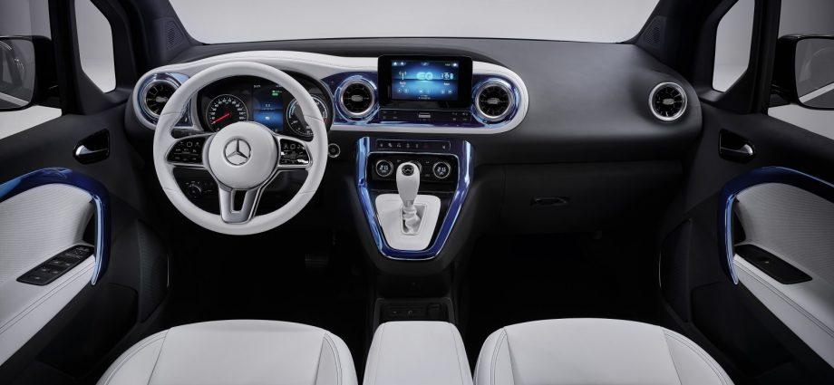 Mercedes-Benz Principle EQT is a quite, all-electric deluxe minivan