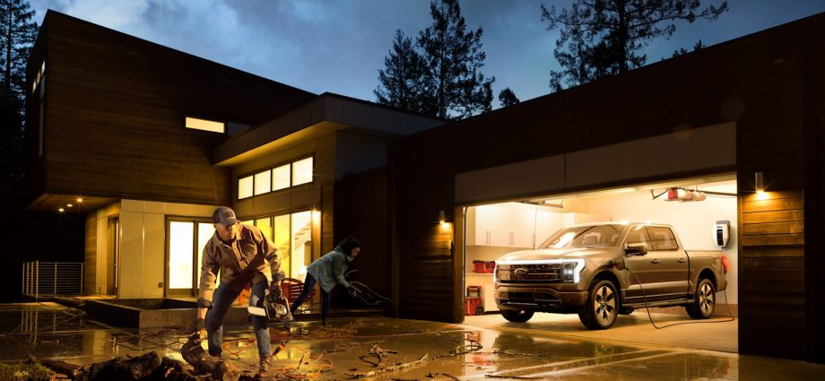 2022 Ford F-150 includes one-of-a-kind to the electrical Lightning