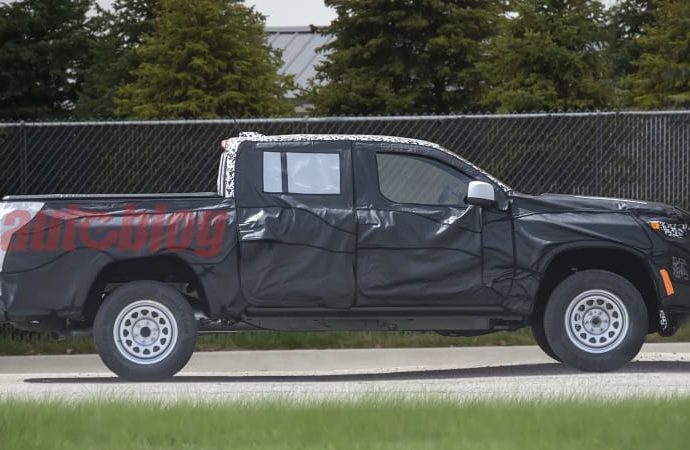 Next-generation Chevrolet Colorado damages cover in brand-new spy images