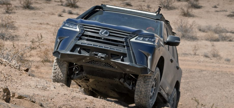 Lexus J201 Principle|Overlanding right into undiscovered brand name surface