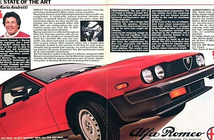 Drive like Mario Andretti in his 1981 Alfa Romeo GTV-6