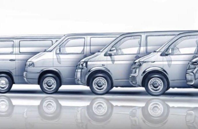 Volkswagen sneak peeks T7 Multivan head of June launch
