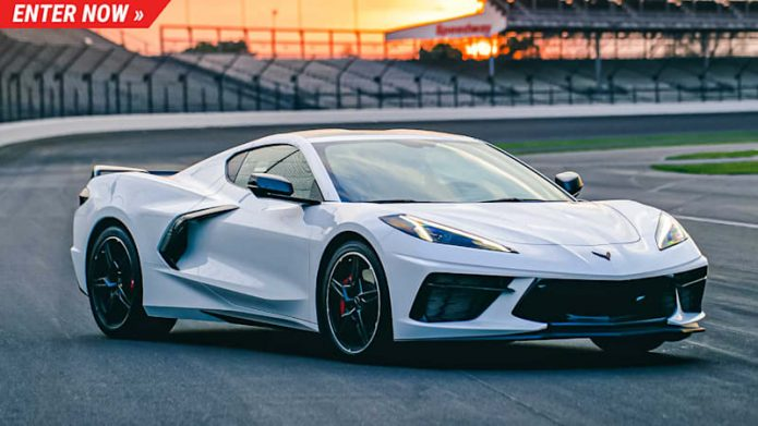 Win a 2021 Corvette Stingray Z51 and also a VIP journey to the Indy 500