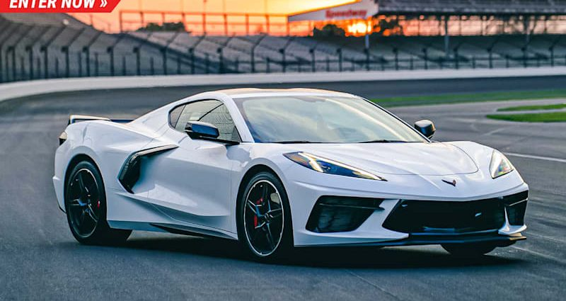 Right here's your possibility to win a 2021 Corvette Z51 and also a journey to the Indy 500