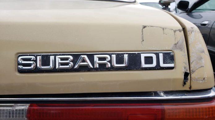 Junkyard Treasure: 1984 Subaru DL Hardtop Sports Car