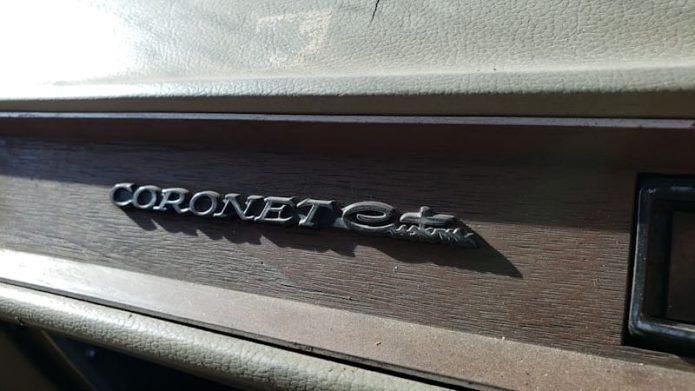 Junkyard Treasure: 1973 Dodge Coronet Personalized Car