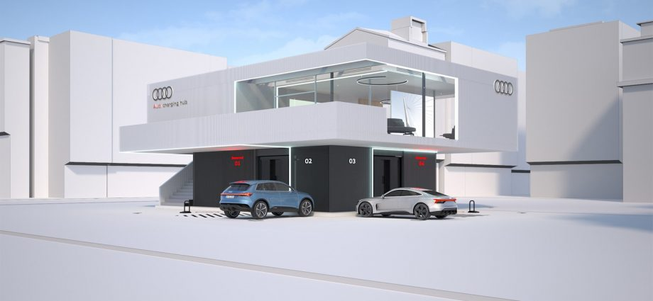 Audi reveals us its principle for extravagant billing lounges of the future