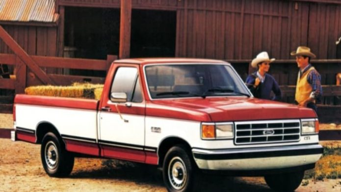 Ford dealership offers your 2021 F-150 retro two-tone paint